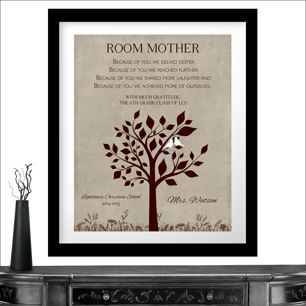 personalized gift for class mom room mom teacher appreciation end of