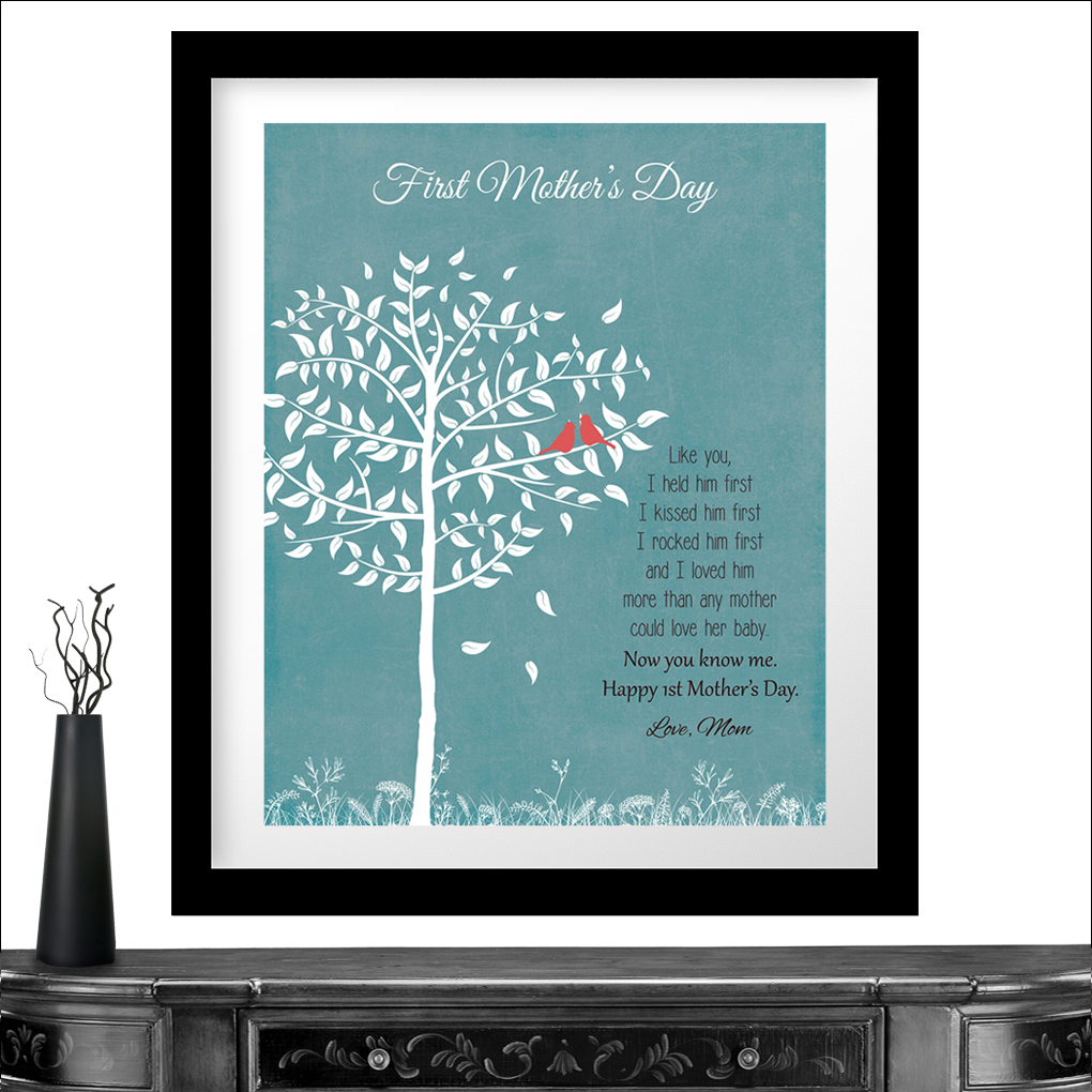 Special Gift For Son On Wedding Day : Personalized Gift For First Mothers Day From Mom or Dad New Baby Son ...